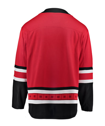 FANATICS CAROLINA HURRICANES MENS HOME BREAKAWAY JERSEY