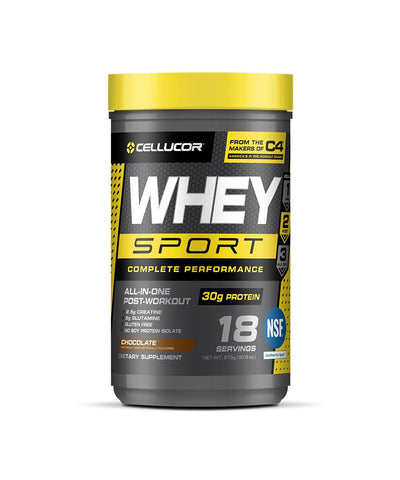 CELLUCOR WHEY SPORT PROTEIN - CHOCOLATE