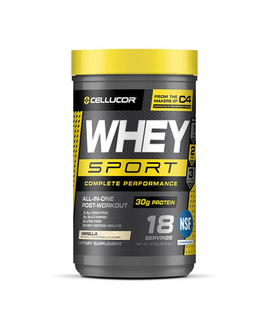 CELLUCOR WHEY SPORT PROTEIN - VANILLA