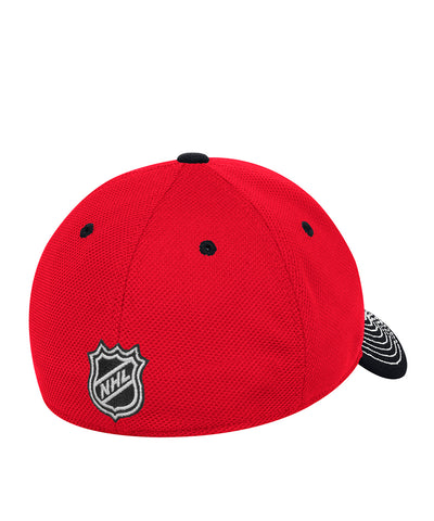 huge selection of 70b89 b5e70 ... shop chicago blackhawks adidas sr locker room structured flex hat 613d2  59157