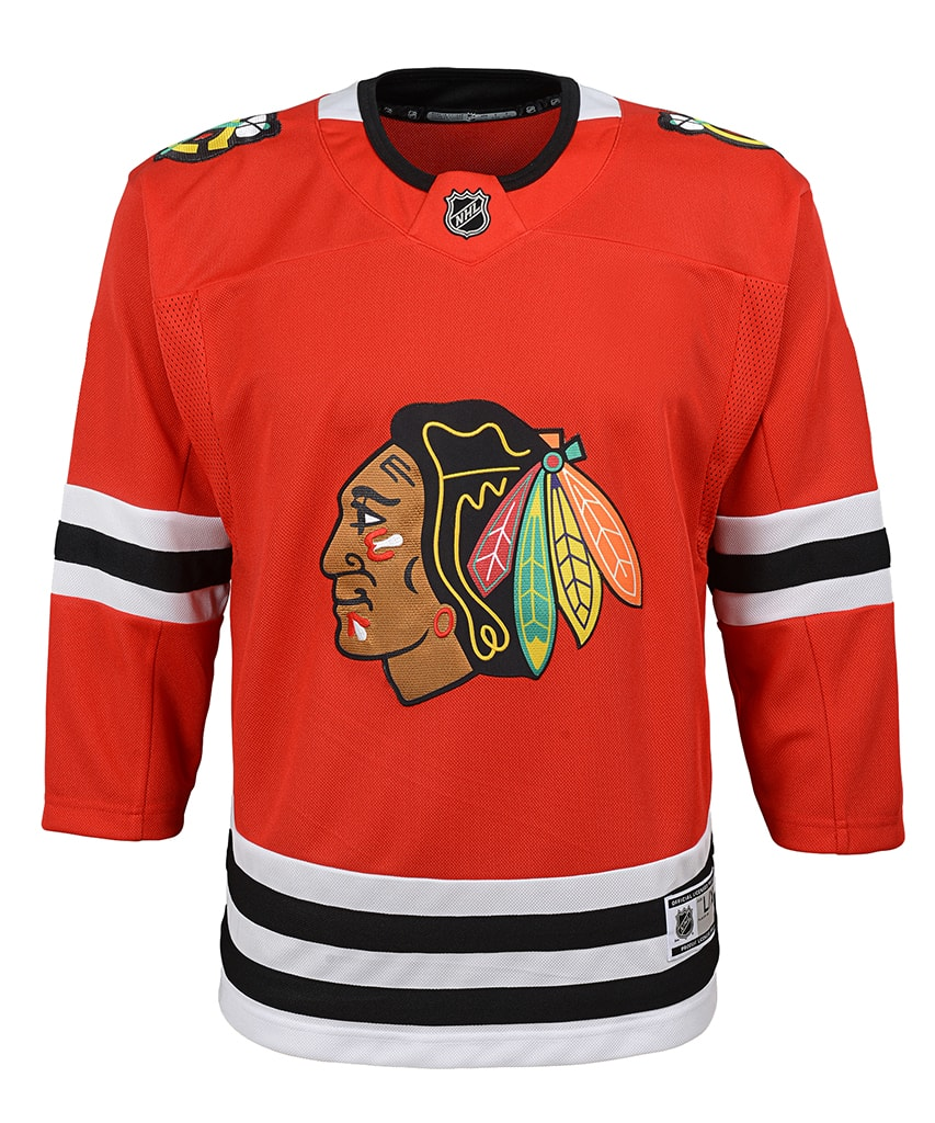 buy popular c5d80 d1011 CHICAGO BLACKHAWKS JUNIOR PREMIER JERSEY