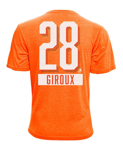 CLAUDE GIROUX PHILADELPHIA FLYERS LEVELWEAR MEN'S ICING NAME & NUMBER T SHIRT