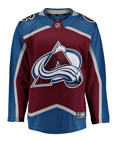 FANATICS COLORADO AVALANCHE MENS HOME BREAKAWAY JERSEY