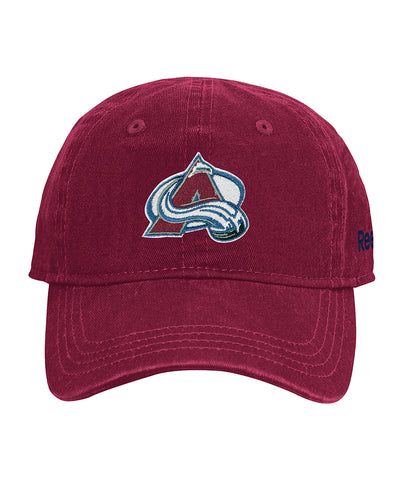 COLORADO AVALANCHE REEBOK INFANT WASHED SLOUCH CAP