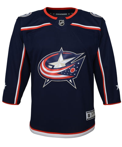 COLUMBUS BLUE JACKETS KID'S PREMIER JERSEY