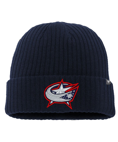 FANATICS COLUMBUS BLUE JACKETS CORE KNIT TOQUE