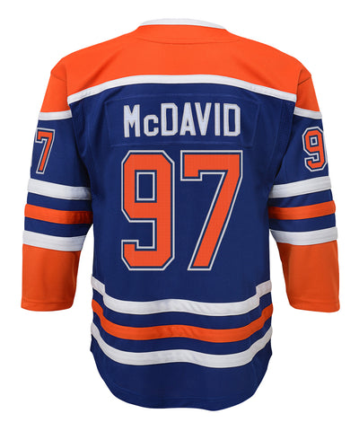 CONNOR MCDAVID EDMONTON OILERS JUNIOR PREMIER THIRD JERSEY