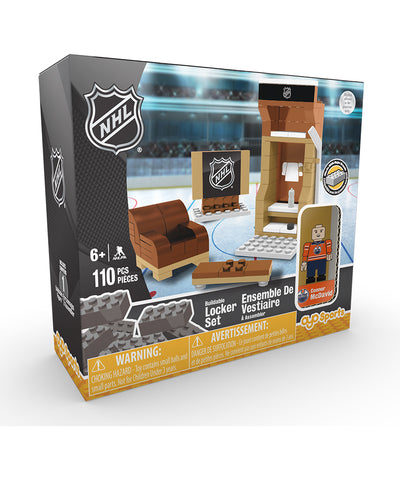CONNOR MCDAVID EDMONTON OILERS OYO LOCKER SET