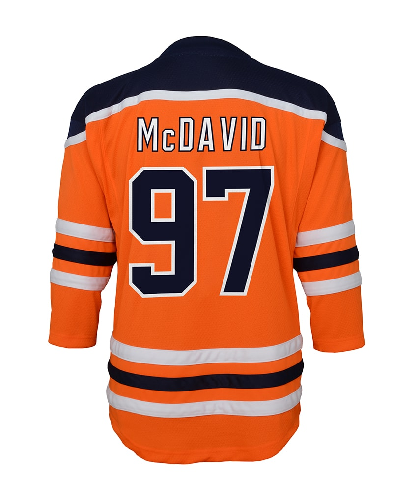 quality design 6a58e 92803 CONNOR MCDAVID EDMONTON OILERS TODDLER REPLICA JERSEY - 18M