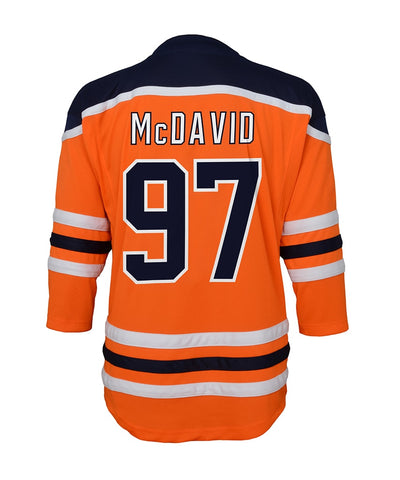 CONNOR MCDAVID EDMONTON OILERS TODDLER REPLICA JERSEY - 18M