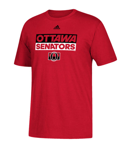 OTTAWA SENATORS ADIDAS MEN'S ADI BOX T SHIRT