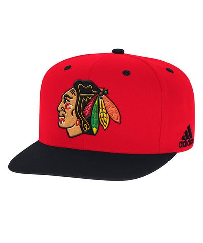 CHICAGO BLACKHAWKS ADIDAS MEN'S SNAPBACK HAT