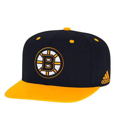 BOSTON BRUINS ADIDAS MEN'S SNAPBACK HAT
