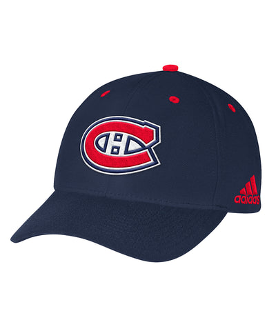 MONTREAL CANADIENS ADIDAS MEN'S STRUCTURED ADJUSTABLE HAT
