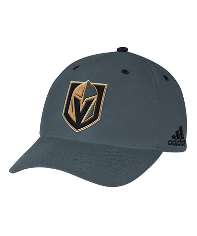 VEGAS GOLDEN KNIGHTS ADIDAS MEN'S STRUCTURED ADJUSTABLE HAT