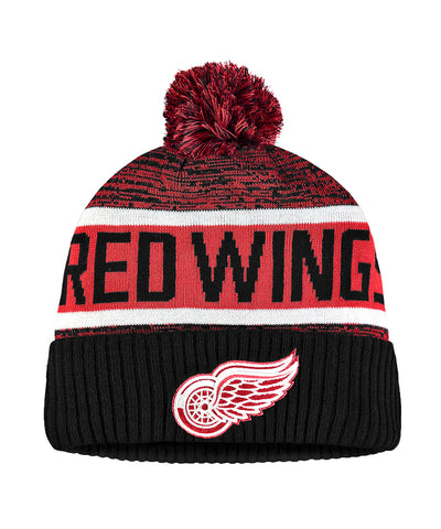 DETROIT RED WINGS FANATICS MEN'S RINKSIDE GOALIE CUFFED KNIT TOQUE