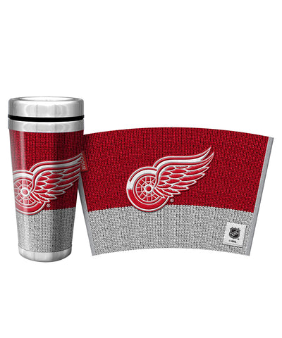 DETROIT RED WINGS WOOLIE TRAVEL MUG