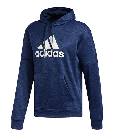 ADIDAS MEN'S TEAM ISSUE FLEECE HOODIE - NAVY