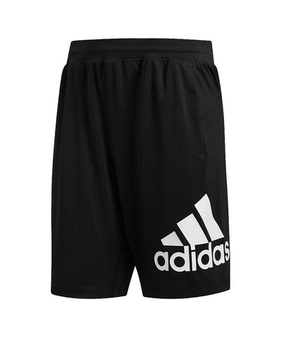 "ADIDAS MEN'S 4K SPORT ALIVE 9"" BADGE OF SPORTS SHORTS"