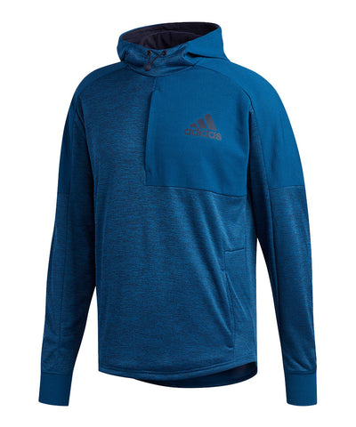 ADIDAS MEN'S TEAM ISSUE PO HOODIE -  NAVY
