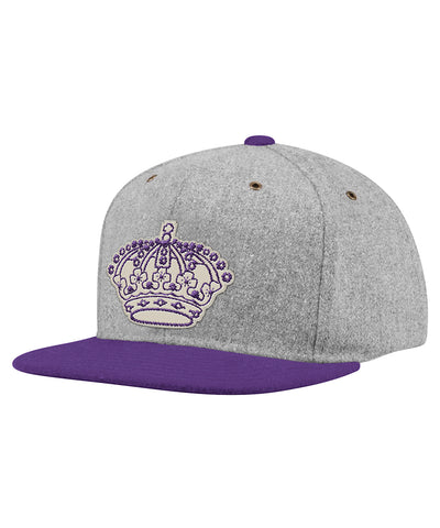 LOS ANGELES KINGS ADIDAS MEN'S VINTAGE STRAPBACK HAT