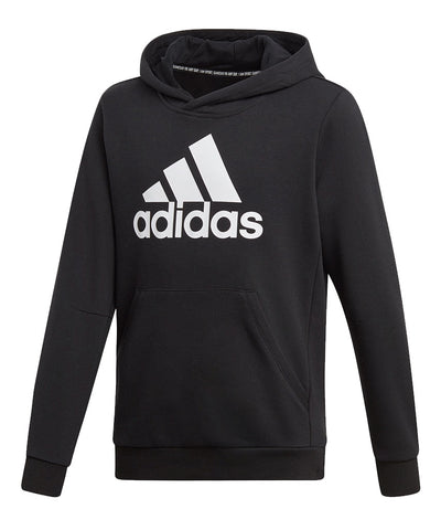 ADIDAS KID'S MUST HAVE BADGE OF SPORTS HOODIE - BLACK