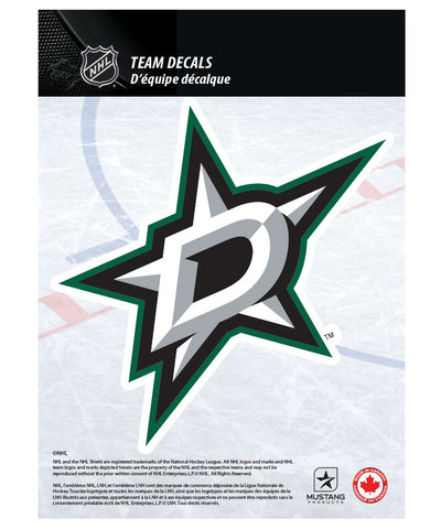 "DALLAS STARS 5"" X 7"" NHL TEAM DECAL"