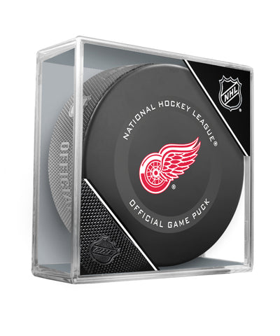 DETROIT RED WINGS 2019 OFFICIAL GAME PUCK