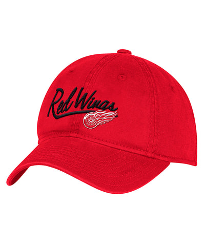 DETROIT RED WINGS ADIDAS WOMEN'S ADJUSTABLE SLOUCH HAT