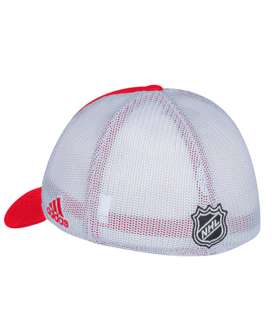 DETROIT RED WINGS ADIDAS MESHBACK SLOUCH FLEX HAT