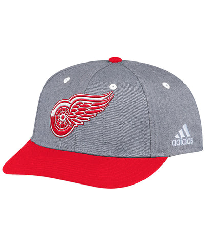 DETROIT RED WINGS ADIDAS TWO TONE STRUCTURED ADJUSTABLE HAT