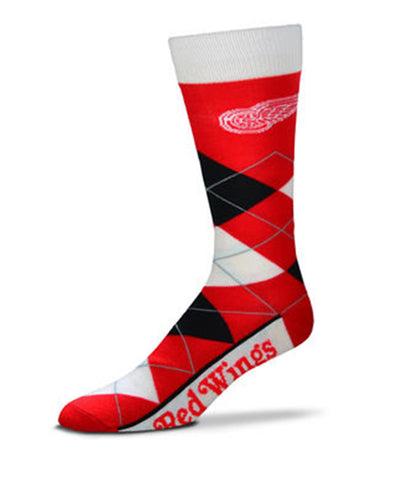 DETROIT RED WINGS ARGYLE SOCKS