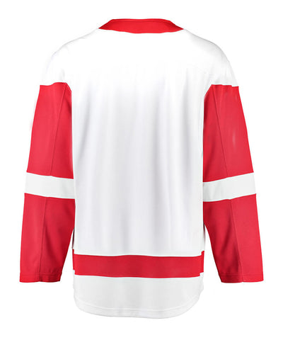 FANATICS DETROIT RED WINGS MENS AWAY BREAKAWAY JERSEY