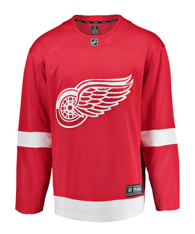 FANATICS DETROIT RED WINGS MENS HOME BREAKAWAY JERSEY