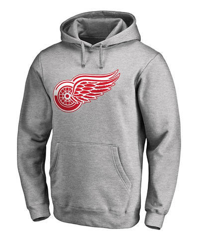 DETROIT RED WINGS FANATICS MEN'S PRIMARY LOGO HOODIE