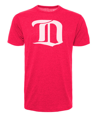 DETROIT RED WINGS 47 BRAND MEN'S VINTAGE CLUB T SHIRT