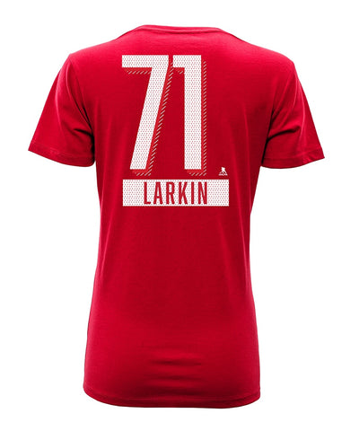 DYLAN LARKIN DETROIT RED WINGS LEVELWEAR WOMEN'S ICING NAME & NUMBER T SHIRT