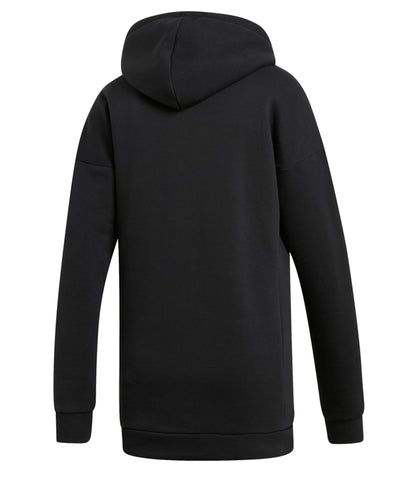 ADIDAS WOMEN'S  BADGE OF SPORT HOODIE - BLACK