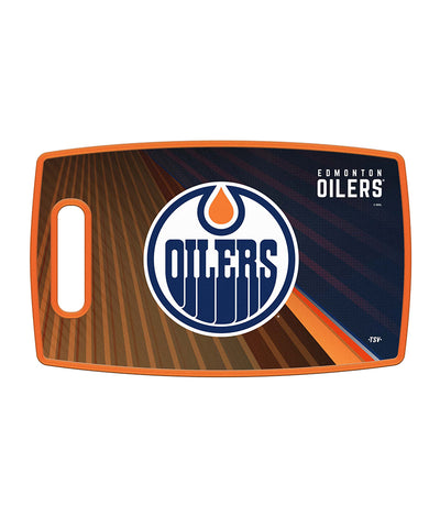 EDMONTON OILERS CUTTING BOARD