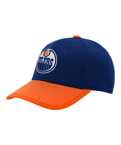 EDMONTON OILERS KIDS AUTHENTIC PRO STRUCTURED NHL DRAFT HAT
