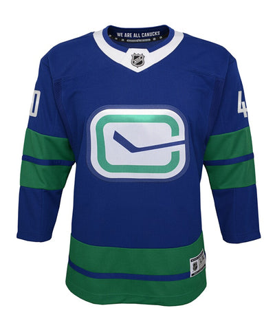 ELIAS PETTERSSON VANCOUVER CANUCKS JUNIOR PREMIER THIRD JERSEY