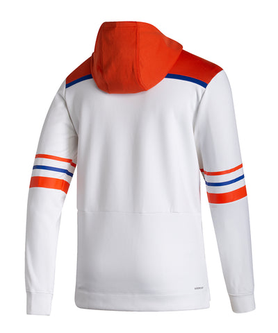 EDMONTON OILERS ADIDAS MEN'S REVERSE RETRO UNDER THE LIGHTS PULLOVER HOODIE