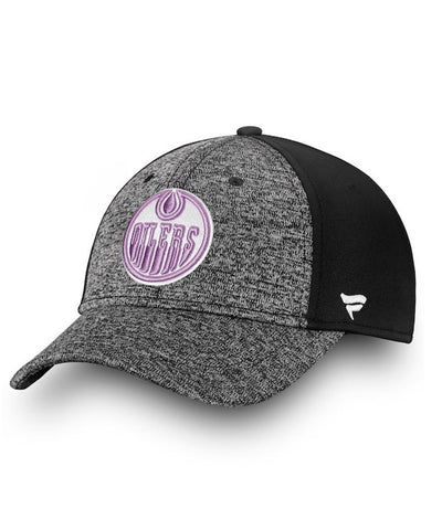 EDMONTON OILERS FANATICS MEN'S HOCKEY FIGHTS CANCER 2018 HAT