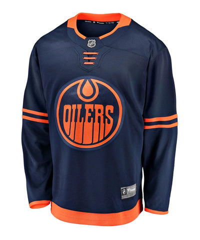 EDMONTON OILERS FANATICS MEN'S BREAKAWAY THIRD JERSEY