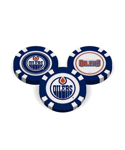 EDMONTON OILERS GOLF POKER CHIPS