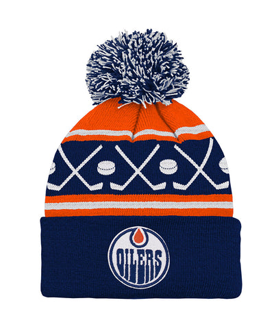 ... REEBOK INFANT WASHED SLOUCH CAP.  9.97. EDMONTON OILERS TODDLER HOCKEY  KNIT POM TOQUE ... e99463325d82