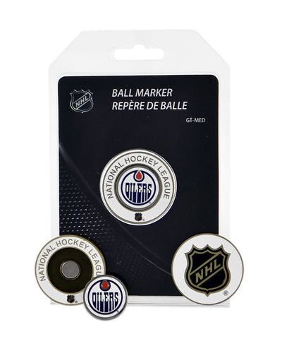 EDMONTON OILERS MEDALLION GOLF BALL MARKER