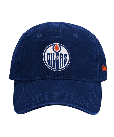 EDMONTON OILERS REEBOK INFANT WASHED SLOUCH CAP