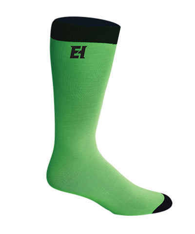 ELITE JR PRO-LINER LIME GREEN SOCKS