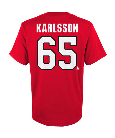 ERIK KARLSSON OTTAWA SENATORS KID'S PLAYER T SHIRT